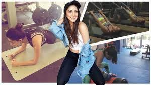Kiara Advani Workout
